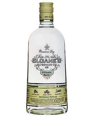 Sloane's Premium Dry Gin 700mL case of 6