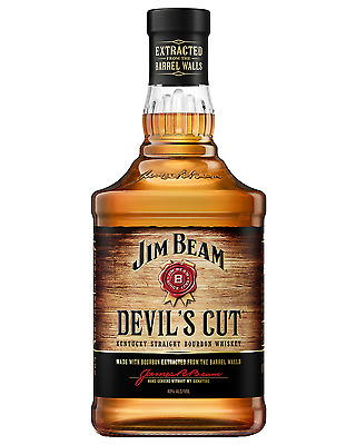 Jim Beam Devil's Cut Bourbon 700mL bottle American Whiskey