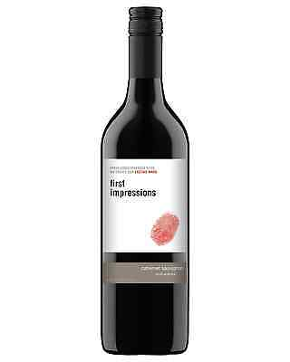 First Impressions Cabernet Sauvignon case of 12 Dry Red Wine 750mL