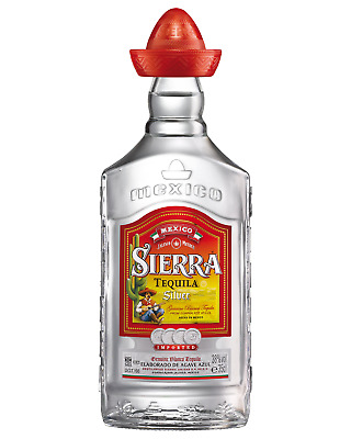 Sierra Silver Tequila 350mL case of 6 Blanco