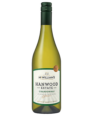 McWilliam's Hanwood Estate Chardonnay case of 6 Dry White Wine 750mL Riverina
