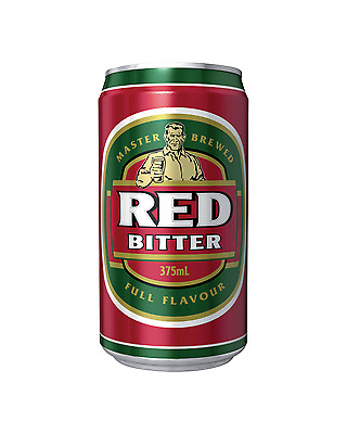 Red Bitter Cans 30 Block 375mL case of 30 Australian Beer Lager