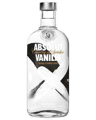 Absolut Vanilia Vodka 700mL case of 6