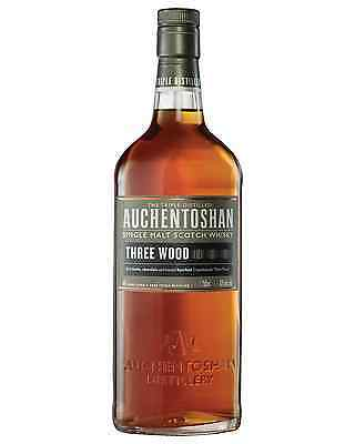 Auchentoshan Three Wood Scotch Whisky 700mL case of 6 Single Malt Lowland