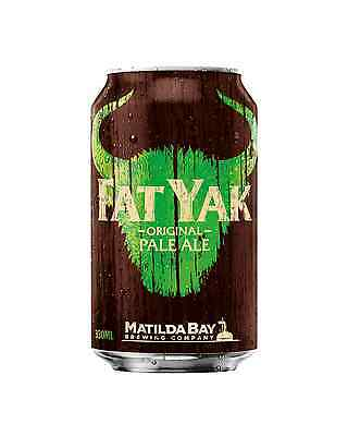 Yak Ales Fat Yak Original Pale Ale Cans 10 Pack 330mL case of 30 Craft Beer