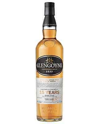 Glengoyne 15 Year Old Scotch Whisky 700mL bottle Single Malt Highland
