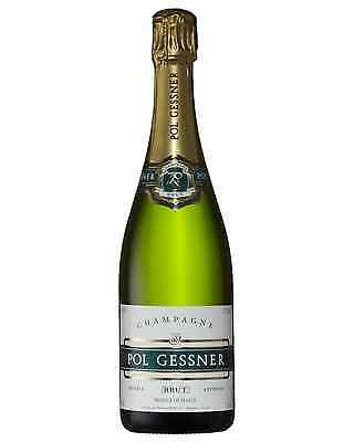 Pol Gessner Champagne Brut case of 6 Sparkling White Wine 750mL