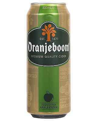 Oranjeboom Apple Cider Cans 500mL case of 24