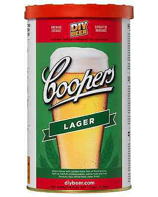 Coopers Home Brew Lager 1.7kg Bar Accessories