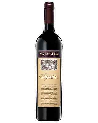 Yalumba The Signature Cabernet Shiraz case of 6 Dry Red Wine 750mL
