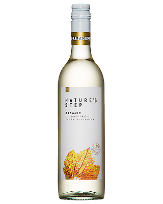 Nature's Step Organic Pinot Grigio case of 6 Dry White Wine 750mL