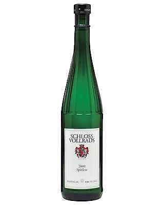 Schloss Vollrads Spatlese Riesling case of 6 Sweet White Wine 750mL Rheingau