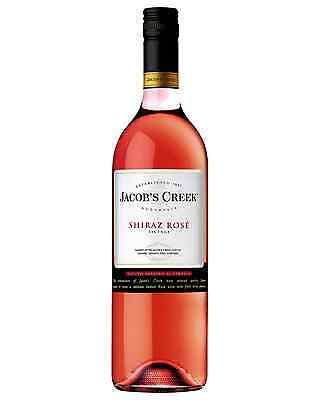 Jacob's Creek Shiraz Rose case of 6 Dry Rosé Wine 750mL