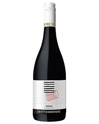 Shottesbrooke Single Vineyard Shiraz bottle Dry Red Wine 750mL McLaren Vale