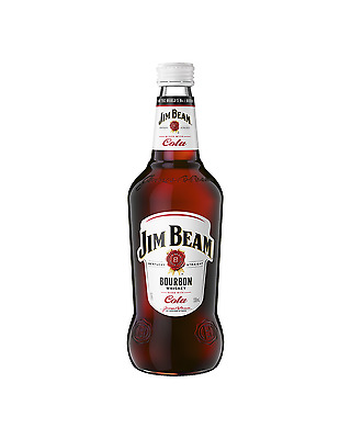 Jim Beam White Label Bourbon & Cola 330mL case of 24 American Whiskey