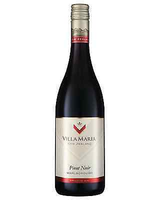 Villa Maria Private Bin Pinot Noir case of 6 Dry Red Wine 750mL Marlborough