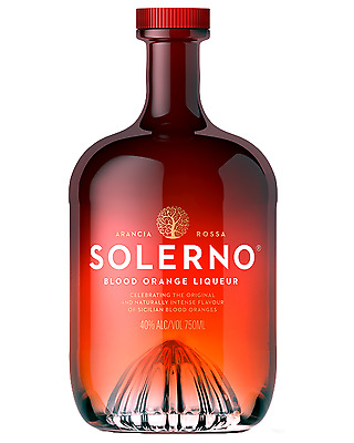 Solerno Blood Orange Liqueur 700mL case of 6 Fruit Liqueurs Sicily