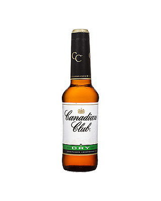 Canadian Club Whisky & Dry 330mL case of 24 Canadian Whisky Blended Whisky