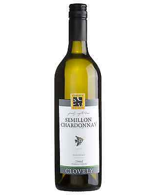 Clovely Estate White Label Semillon Chardonnay case of 12 Dry White Wine 750mL