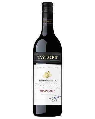 Taylors Estate Tempranillo case of 6 Dry Red Wine 750mL Clare Valley