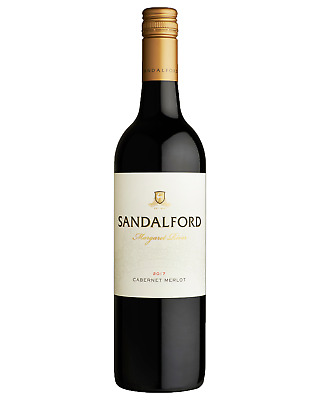 Sandalford Cabernet Merlot bottle Dry Red Wine 750mL Margaret River