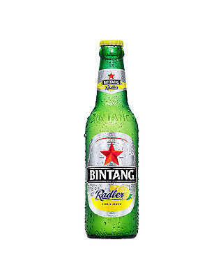 Bintang Radler Beer 330mL case of 24 International Beer