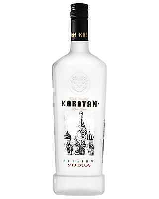 Karavan Premium Vodka 700mL case of 6