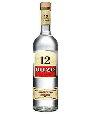Ouzo 12 700mL case of 6