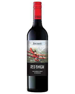 Fox Creek Red Baron Shiraz bottle Dry Red Wine 750mL McLaren Vale