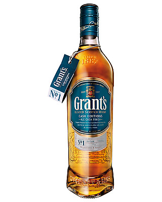 Grant's Ale Cask Finish Scotch Whisky 700mL case of 6 Blended Whisky