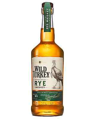 Wild Turkey Kentucky Straight Rye Whiskey 700mL bottle American Whiskey