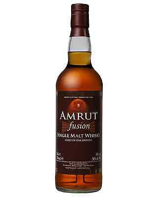 Amrut Fusion Indian Whisky 700mL case of 6 Single Malt