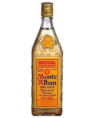 Monte Alban Mezcal 700mL bottle