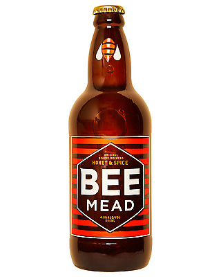 Beemead Honey & Spice Sparkling Mead 500mL bottle Wine