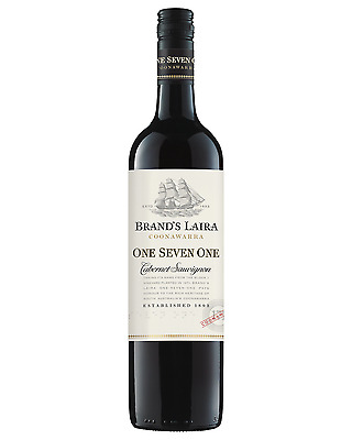 Brands Laira 171 Cabernet Sauvignon 2012 case of 6 Dry Red Wine 750mL Coonawarra