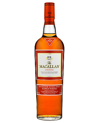 The Macallan 1824 Series Sienna Scotch Whisky 700mL bottle Single Malt Highland