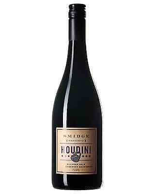 Houdini McLaren Vale Cabernet Sauvignon Smidge bottle Dry Red Wine 750mL