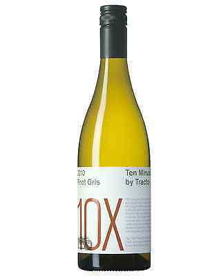 Ten Minutes by Tractor 10X Pinot Gris case of 6 Dry White Wine 2010* 750mL