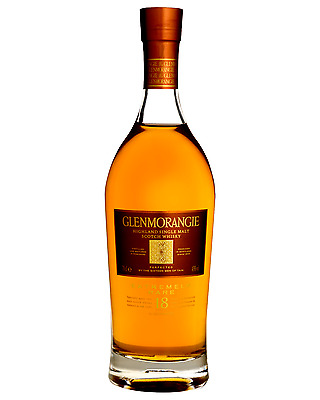 Glenmorangie 18 Year Old Scotch Whisky 700mL bottle Single Malt Highland