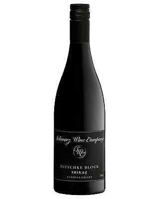 Schwarz Nitschke Block Shiraz case of 6 Dry Red Wine 750mL Barossa Valley