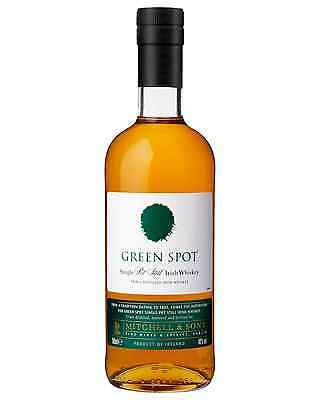 Green Spot Single Pot Still Irish Whiskey 700mL case of 6