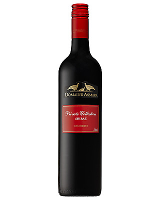 Domaine Asmara Private Collection Shiraz case of 6 Dry Red Wine 2014* 750mL