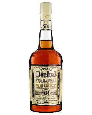 George Dickel Superior No. 12 Tennessee Whisky 750mL case of 6 American Whiskey