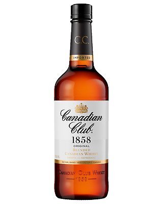 Canadian Club Whisky 700mL case of 12 Canadian Whisky Blended Whisky