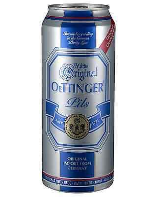 Oettinger Pils Cans 500mL case of 24 International Beer Pilsner