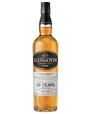Glengoyne 18 Year Old Scotch Whisky 700mL case of 6 Single Malt Highland