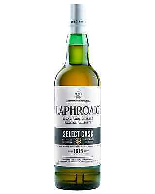 Laphroaig Select Cask Scotch Whisky 700mL case of 6 Single Malt Islay