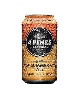 4 Pines Indian Summer Pale Ale Cans 375mL case of 16 Craft Beer