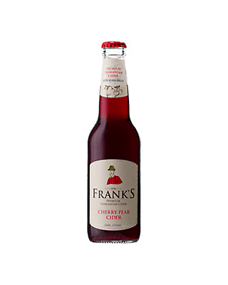 Frank's Premium Tasmanian Cherry Pear Cider 330mL case of 24