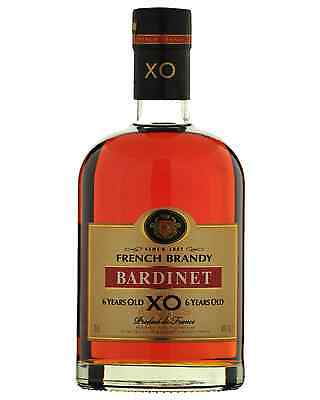 Bardinet XO 6 Year Old French Brandy 700mL case of 6